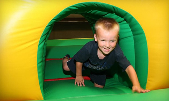 Giggle N Jump - Bastrop: One-Month, Three-Day, or Five-Day Spring-Break Play Pass or Birthday Party at Giggle N Jump in Bastrop (Up to 54% Off)