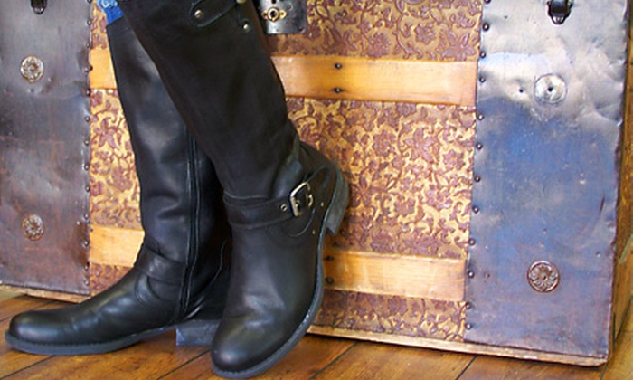 Shoestrings - Cottage Grove: $15 for $30 Worth of Casual Footwear and Women's Apparel at Shoestrings