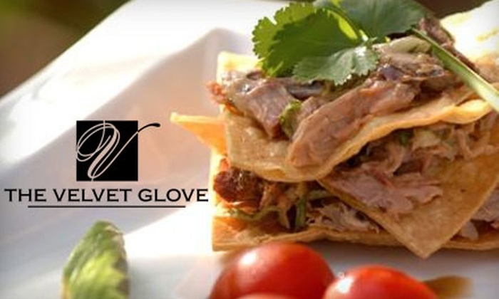 The Velvet Glove - Downtown Winnipeg: $25 for $50 Worth of Contemporary Fare and Drinks at The Velvet Glove in The Fairmont Winnipeg Hotel