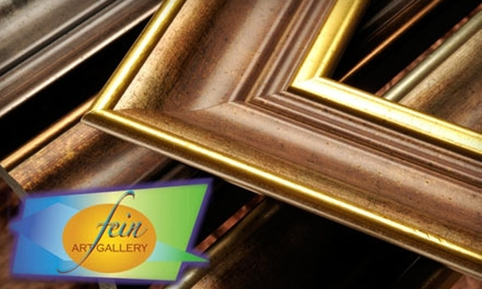 Fein Art Gallery - East Allegheny: $40 for $100 Worth of Custom Framing from Fein Art Gallery