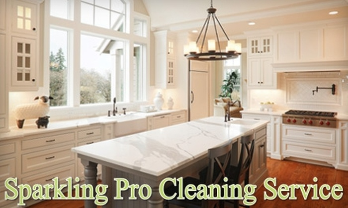 Sparkling Pro Cleaning Service - CUF: $55 for Three Hours of House Cleaning from Sparkling Pro Cleaning Service ($120 Value)