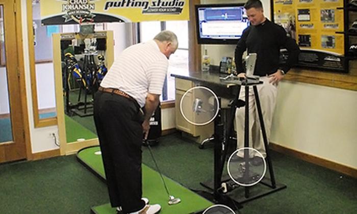 Chad Johansen Golf Academy - Bristol: Putting-Lesson or Golf-Lesson Package at Chad Johansen Golf Academy in Bristol