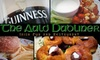 The Auld Dubliner - West University: $15 for $30 Worth of Pub Fare and Drinks at The Auld Dubliner