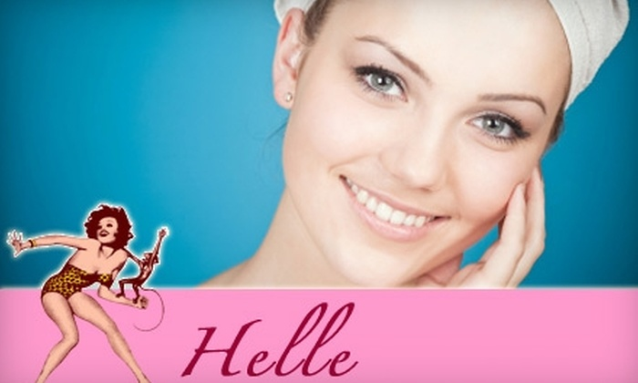 Helle - Georgetown: $75 for Body Scrub and Facial Plus Complimentary Salt Scrub at Helle in Georgetown ($155 Value)