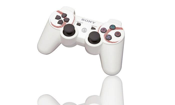 PS3 DualShock Limited-Edition Baseball Wireless Controller: PS3 DualShock Limited-Edition Baseball Wireless Controller. Free Returns.