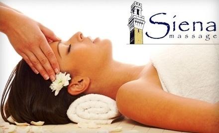Siena Massage - Siena Massage in