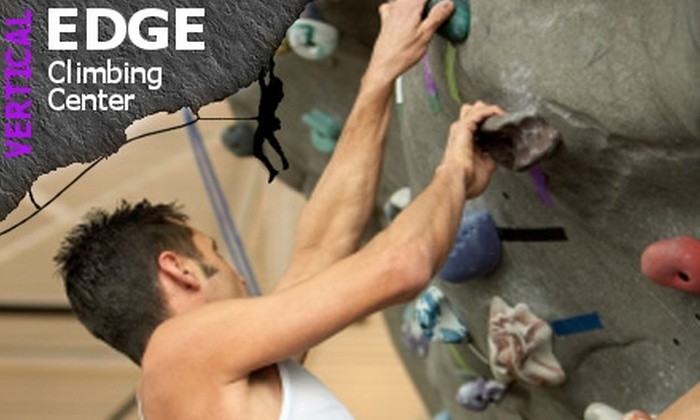 Vertical Edge Climbing Center - Oak Grove: $20 for a Rock-Climbing Class at Vertical Edge Climbing Center, Plus Admission and Equipment for an Additional Day ($48 Value)