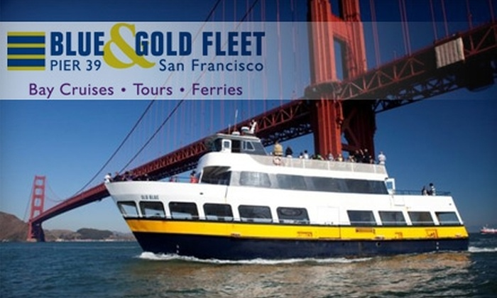 Blue & Gold Fleet - Fisherman's Wharf: $12 for a Scenic Bay Cruise from Blue & Gold Fleet (Up to $24 Value)