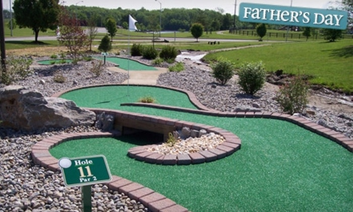 Adventure Falls - Richmond: $7 for All-Day Mini-Golf Passes for Two at Adventure Falls ($16 Value)