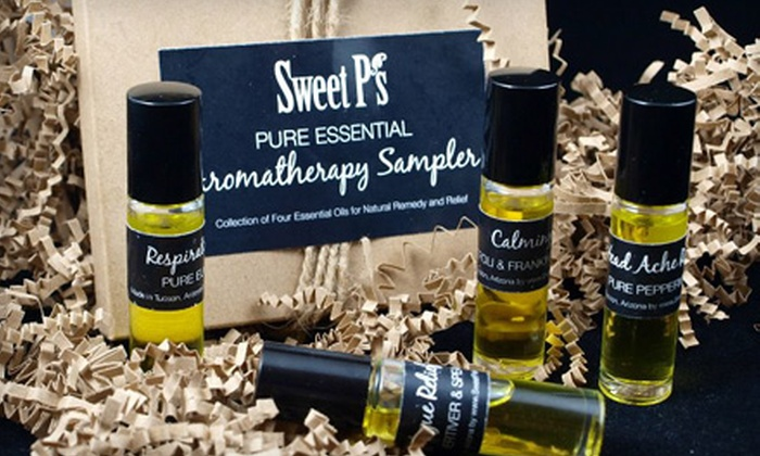 Sweet P's Luxury Organic Skin Care: $25 for $50 Worth of Skin and Home Products and an 8-Ounce Body Mist from Sweet P's Luxury Organic Skin Care ($67 Total Value)