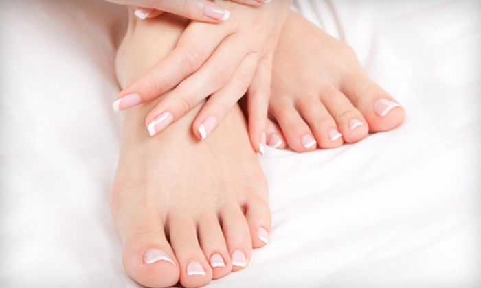 Frenchy's Nails - Vista Ridge: Spa Mani-Pedi or Shellac Manicure at Frenchy's Nails in Lewisville (Half Off)