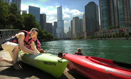 Urban Kayaks: Single Fireworks Paddle - Urban Kayaks in Chicago