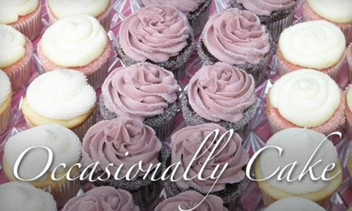 Occasionally Cake - Mount Vernon: $10 for Six Cupcakes from Occasionally Cake in Alexandria (Up To A $21 value)