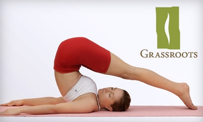 Grassroots Wellness Spa and Fitness Studio - Rockwoods: $35 for Five Pilates or Yoga Classes at Grassroots Wellness Spa and Fitness Studio ($75 Value)