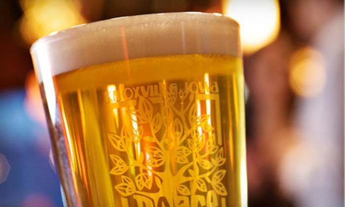 Peace Tree Brewing Co. - Knoxville: $18 for Brewery Tour for Four, Four Pint Glasses, and 16 Beer Samples at Peace Tree Brewing Co. ($36 Value)