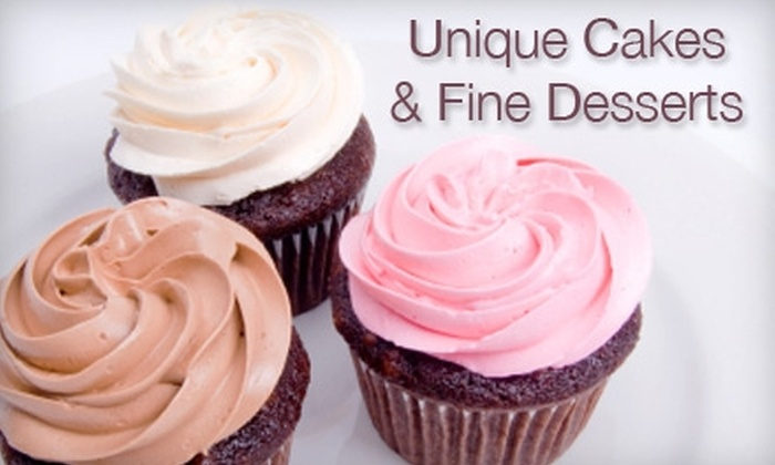 Unique Cakes and Fine Desserts - Raleigh / Durham: $7 for Six Cupcakes Plus Delivery from Unique Cakes and Fine Desserts ($15.50 Value)