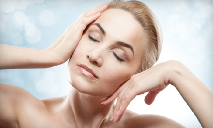 Oasis Med Spa & Laser Center - Forest Place: Laser Skin-Tightening and Microdermabrasion Packages at Oasis Med Spa and Laser Center. Four Options Available.