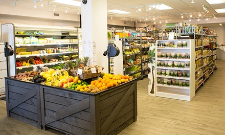 C$19 for C$35 Worth of Organic Groceries, Health Food, and Household Items at Urban Organics Market
