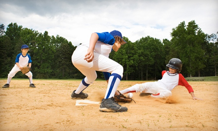 Legacy Sports Academy, Inc. - Northwest Oklahoma City: Batting-Cage or Outdoor Baseball-Field Rental at Legacy Sports Academy in Edmond. Four Options Available.