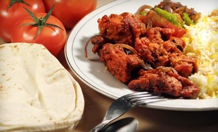 $20 Groupon to Kurry Kebab - Kurry Kebab in Edmonton