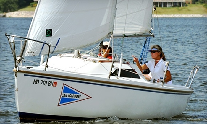 Sail Solomons - Solomons: $45 for One Introduction-to-Sailing Course at Sail Solomons in Solomons, MD ($95 Value)