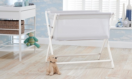 Little Chick Bedside Crib with Delux Breathable Mattress With Free Delivery