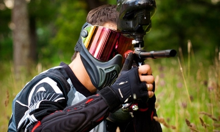 Paintball Jungle - American Canyon: $55 for a Paintball Package for Two at Paintball Jungle in American Canyon ($110 Value)