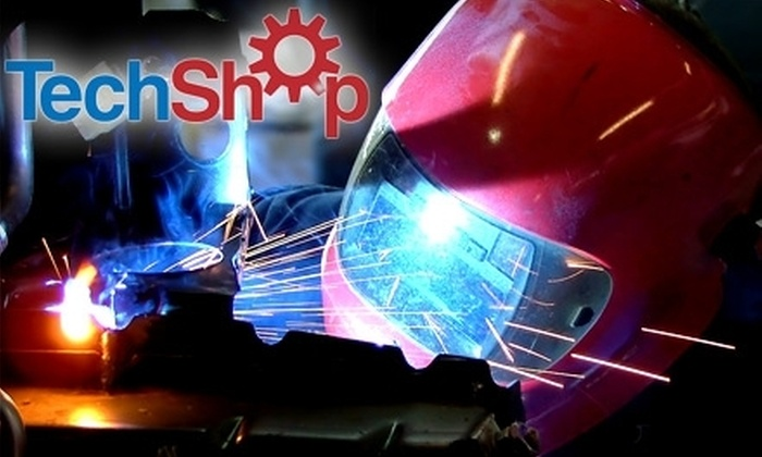 TechShop - Multiple Locations: $95 for a One-Month Membership and One Select Class at TechShop (Up to $190 Value)