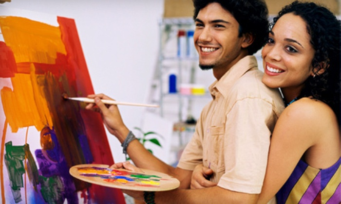 Artful Dreamers Studio - Briny Breezes: $24 for a Painting Class for Two at Artful Dreamers Studio in Boynton Beach (Up to $70 Value)