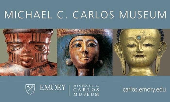 Michael C. Carlos Museum of Art - Atlanta-Decatur: Admission or Membership to the Michael C. Carlos Museum of Art. Choose from Three Deals.