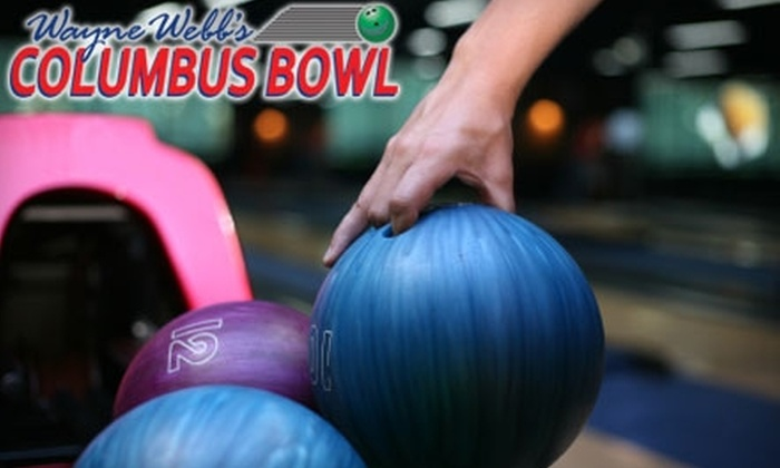 Wayne Webb's Columbus Bowl - South Columbus: $6 for Two Games of Bowling and One Pair of Rental Shoes at Wayne Webb's Columbus Bowl (Up to $11.75 Value)