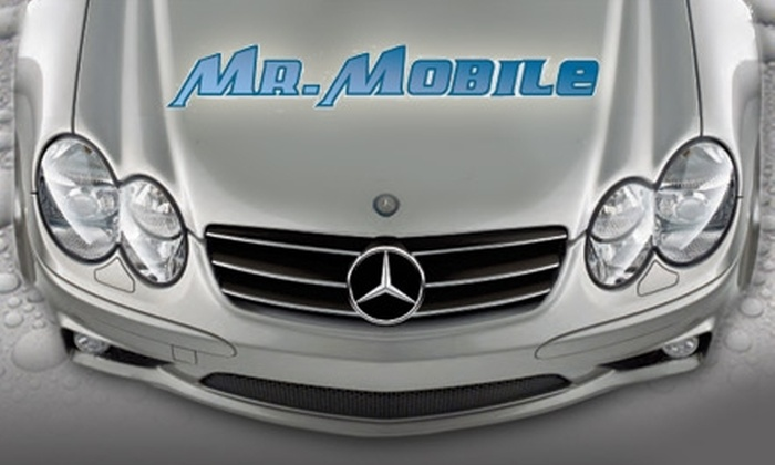 Mr. Mobile - Atlanta: $75 for an On-Location Full Car or SUV Detail from Mr. Mobile (Up to $175 Value)