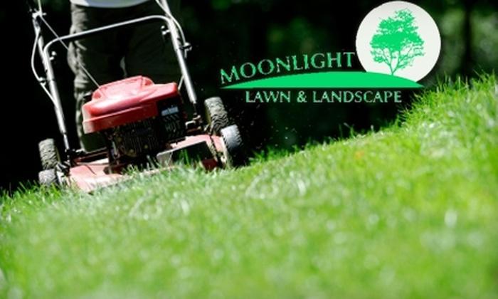 Moonlight Lawn & Landscape - Wichita: $45 for $100 Worth of Lawn Services from Moonlight Lawn & Landscape