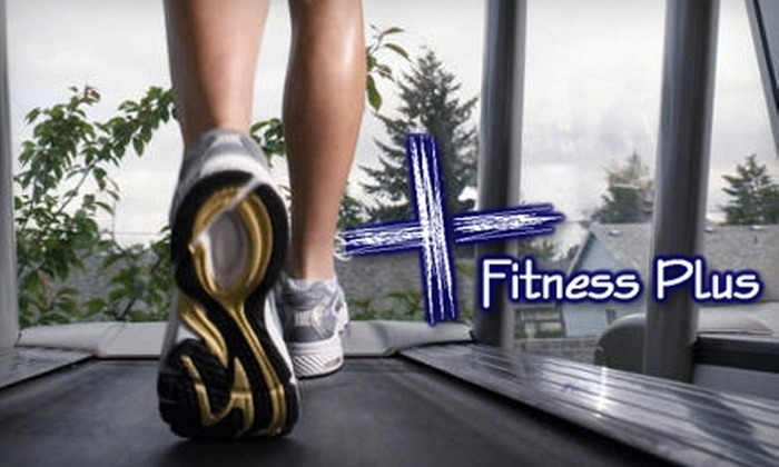 Fitness Plus - Fox Hill Commercial Center: $20 for a One-Month Membership, Including Classes, at Fitness Plus in Overland Park ($75 Value)