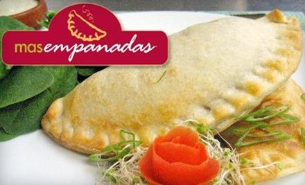 $50 Groupon to Mas Empanadas - Mas Empanadas in San Rafael