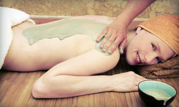 Avenue Hair Styling and Day Spa - Downtown: Seaweed Body Wrap, Foot Detox, and Paraffin Wax, or Seaweed Body Wrap at Avenue Hair Styling and Day Spa (Up to 54% Off)
