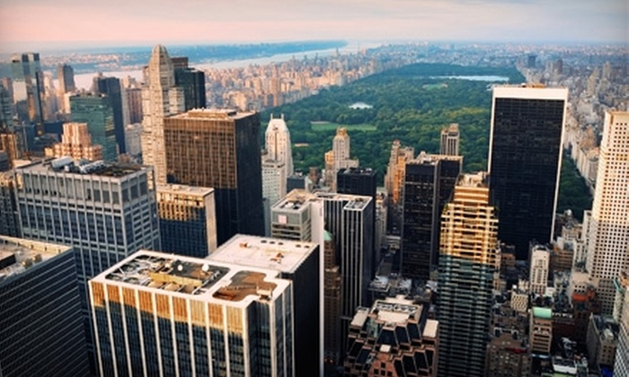 Deals 4 Tours - Multiple Locations: $18 for a One-Day Sightseeing Bus Tour of New York City from Deals 4 Tours ($36 Value)