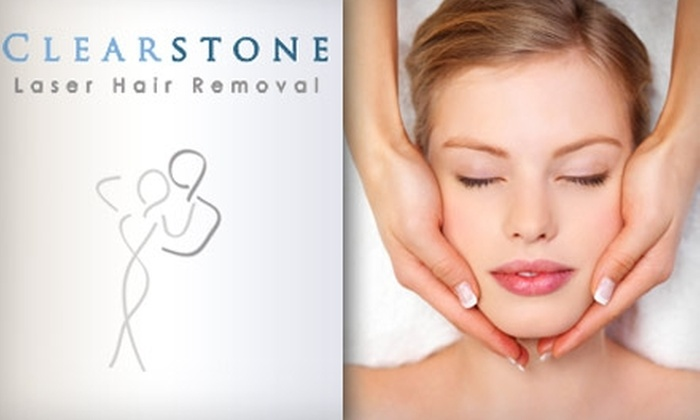 Clearstone Laser Hair Removal in - Houston, Texas | Groupon