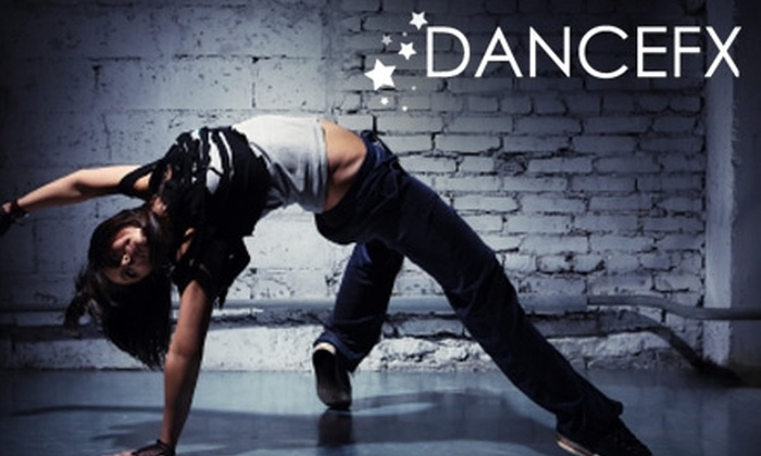 Dancefx Charleston - Upper Concord Street: $40 for a Five-Class Pass at Dancefx Charleston ($90 Value)