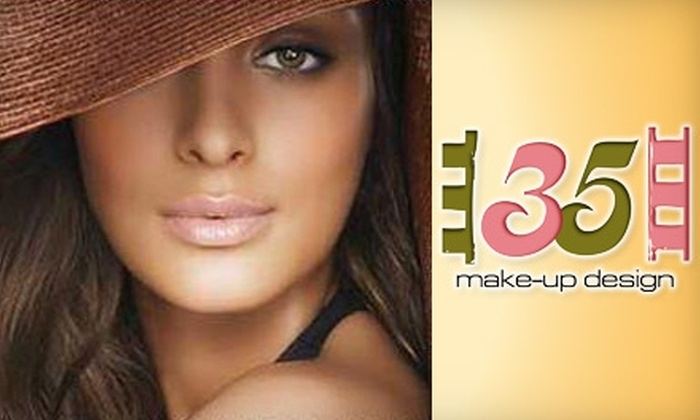 35 Make Up Design - Neartown/ Montrose: $150 for $300 Worth of Beauty Services from 35 Make Up Design