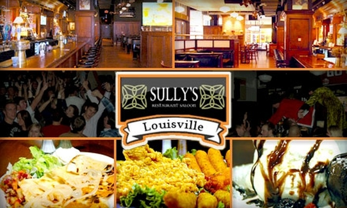 Sully's Restaurant and Saloon - Central Business District: $10 for $25 Worth of Classic Pub Fare and Drinks at Sully's Restaurant and Saloon