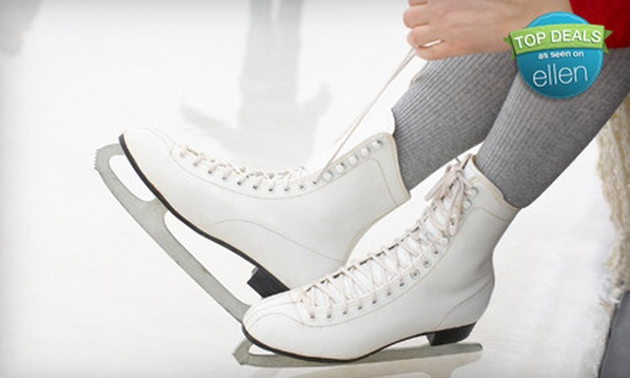 Ice Land USA  - Lakewood: $29 for a Skating Package with Lessons, Open Skate, and Skate Rental at Ice Land USA in Lakewood (Up to $63 Value)