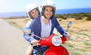 """גלעד-בי""""ס לנהיגה: 4 שיעורי נהיגה + טסט על קטנוע עד 125 סמ""""ק ב-399 ₪ בלבד! אופציה לזוג. בתל אביב"""