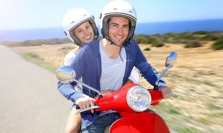 4 שיעורי נהיגה + טסט על קטנוע עד 125 סמק ב 399 ₪ בלבד! אופציה לזוג. בתל אביב