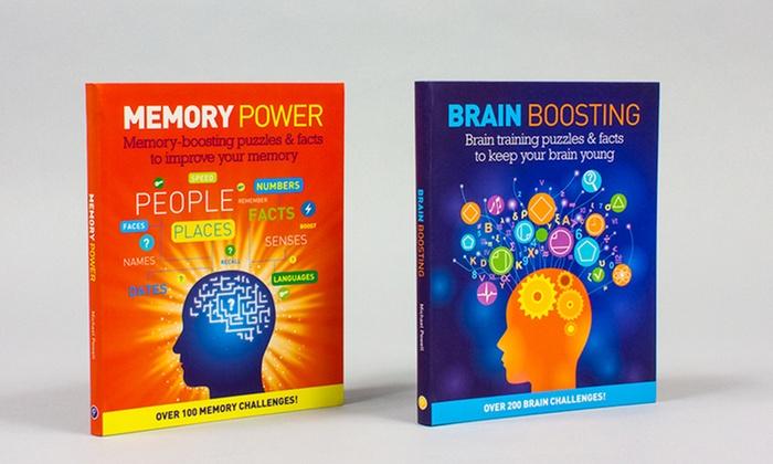 Brain Training and Memory Power 2-Book Set: Brain Boosting and Memory Power 2-Book Set