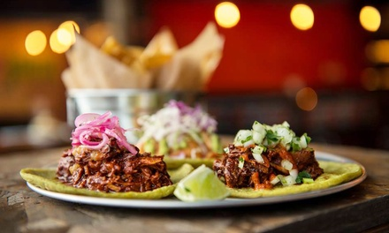 Taco Tasting and Zocalo Margaritas for Two or Carry Out or Delivery Mexican Food at Taco Joint (Up to 55% Off)