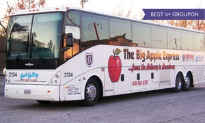 Hunt Valley Motor Coach & Gunther Charters: $33 for a Same-Day Round-Trip Bus Ride to New York City from Hunt Valley Motor Coach ($55 Value)