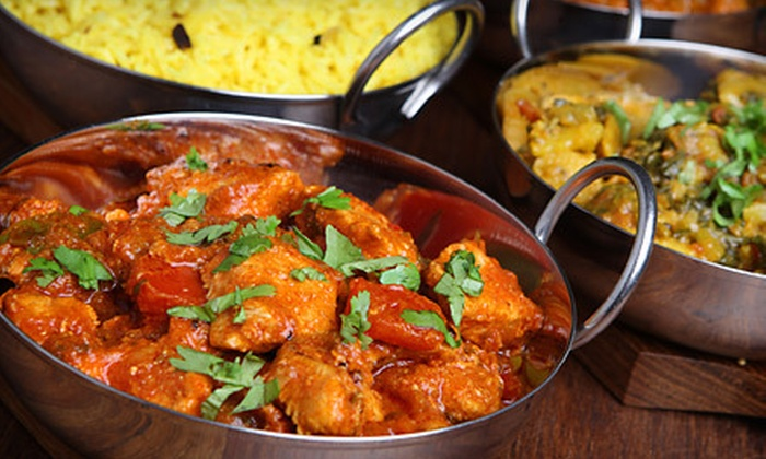 Ghazal Indian Cuisine - Jamaica Hills - Pond: Indian Food for Dinner at Ghazal Indian Cuisine (Up to 52% Off). Two Options Available.