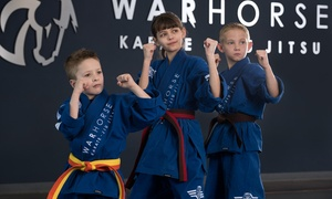 Warhorse Karate Jiu Jitsu: Six Weeks of Karate with Uniform, or Birthday Party for Up to 10 at Warhorse Karate Jiu Jitsu  (Up to 80% Off)