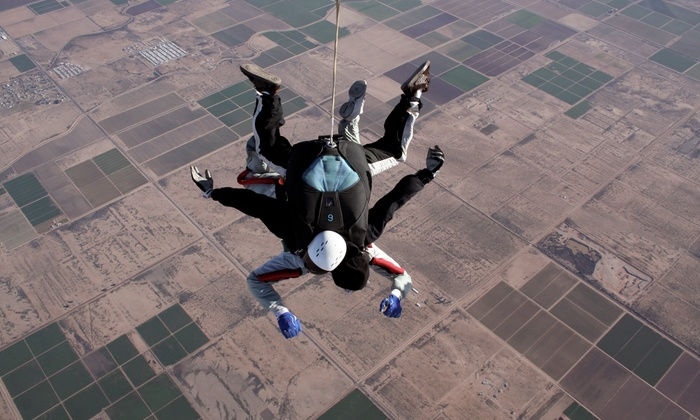 Skydive Lake Wales - Lake Wales: Tandem Skydive for One or Two and a T-shirt from Skydive Lake Wales (Up to 43% Off)